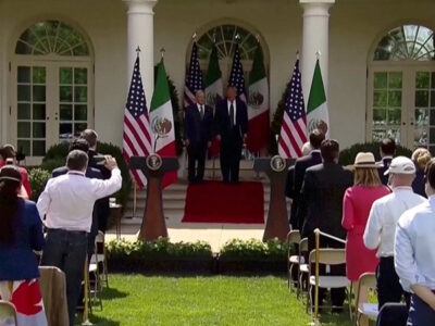 Tras el discurso de AMLO en su reunión con Trump, Cerdeira opina que se necesita uno igual en México