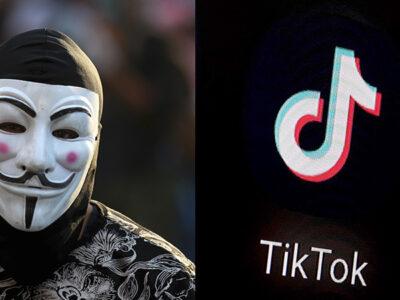 anonymous ataca tiktok