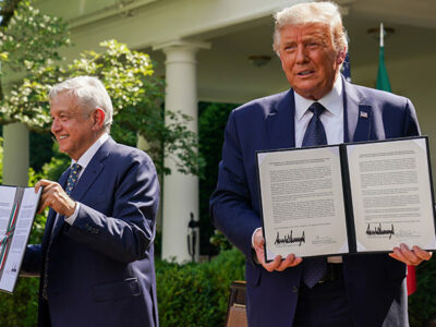 Se cumplió la reunión de AMLO y Trump en la Casa Blanca a la Casa Blanca