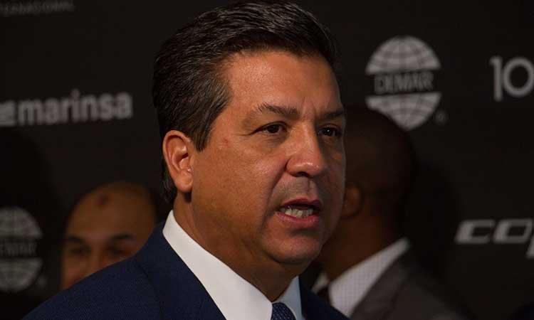 Gobernador de Tamaulipas, Francisco Cabeza de Vaca, tiene COVID-19