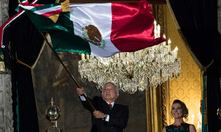 AMLO dijo que todavía no sabe si va a haber gente en el Zócalo.