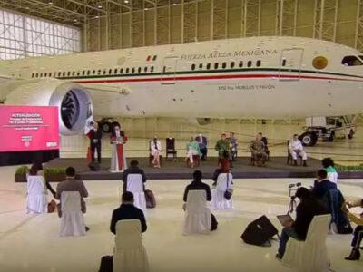Avión presidencial: mantenimiento en EU fue de 1.7 mdd