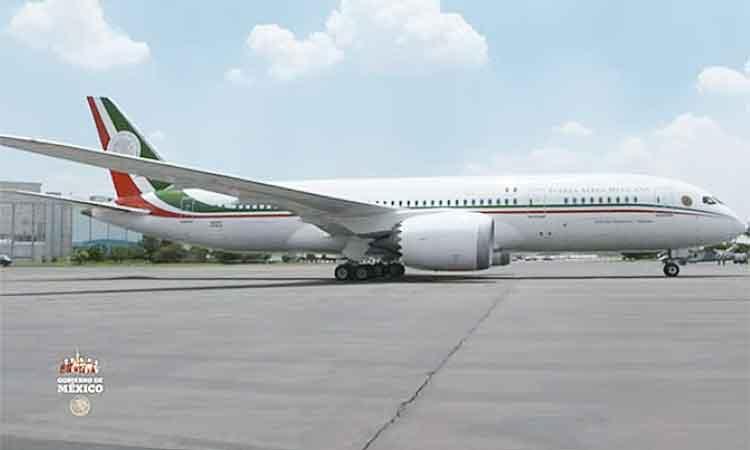 López Obrador explicó que el avión presidencial ya se encuentra en México.