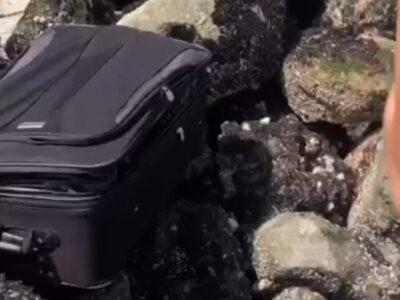 TikTok: identifican restos hallados en maleta durante video de la red social
