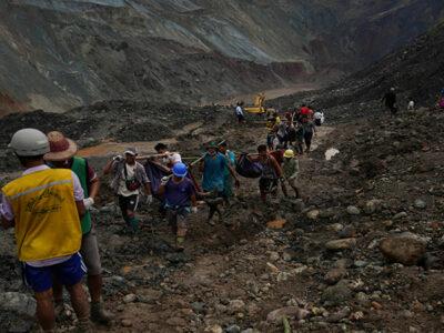 En China derrumbe de mina deja al menos 160 muertos