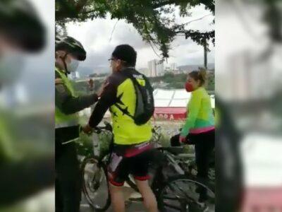 Ciclista Neymar Colombia