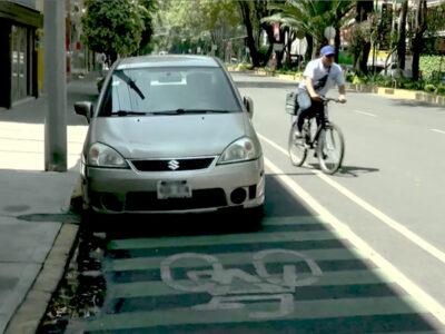 Ciclistas en la CDMX