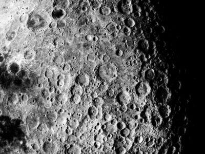 cráteres de la luna asteroides