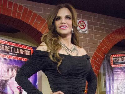 Lucía Méndez festeja que será abuela por primera vez