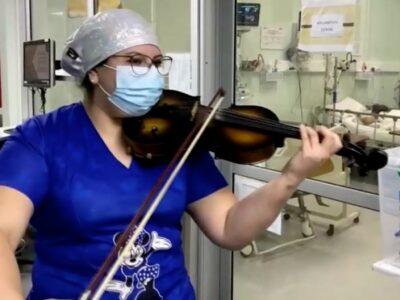 enfermera Chile covid
