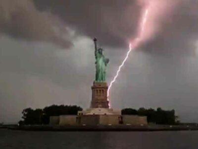 Esta no es la primera vez que Mikey Cee toma fotos impresionantes de Nueva York.