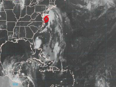 Tormenta tropical Fay tocará tierra en EU; llegaría este viernes o sábado