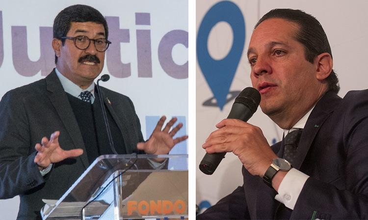 Javier Corral y Francisco Domínguez expresaron que no comparten lo escrito en el documento que solicita la renuncia a Hugo López-Gatell.