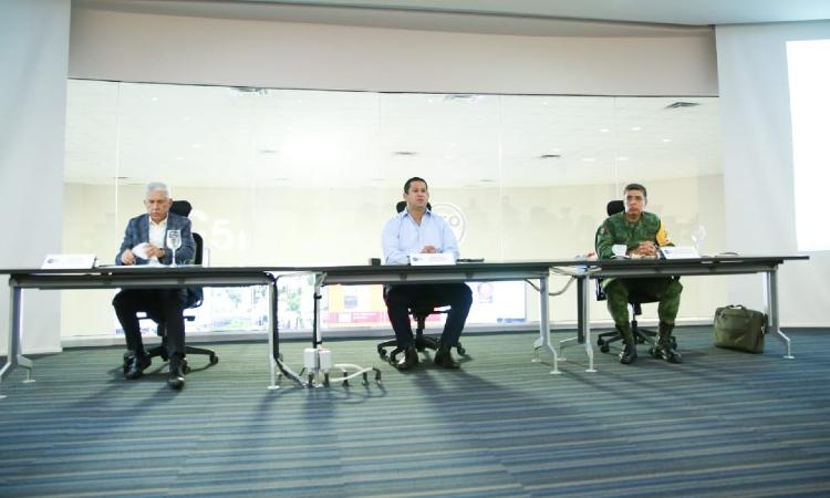 Sinhue encabeza mesa de seguridad entre Gobiernos estatal y federal