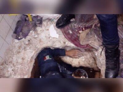 Hallan túnel al interior del penal de Cieneguillas, Zacatecas