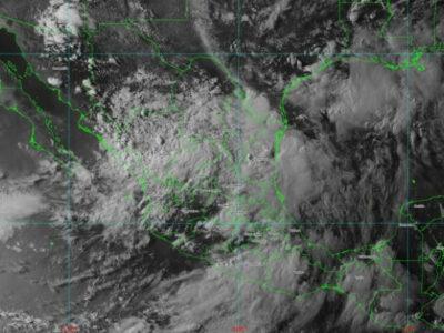 Hanna por México: en 24 horas llovieron 500 litros por metro cuadrado