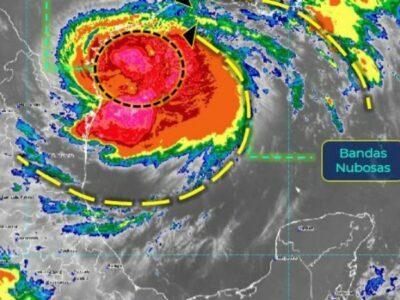 Hanna se intensifica a huracán categoría 1