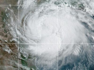 Hanna: así se ve desde la Estación Espacial Internacional