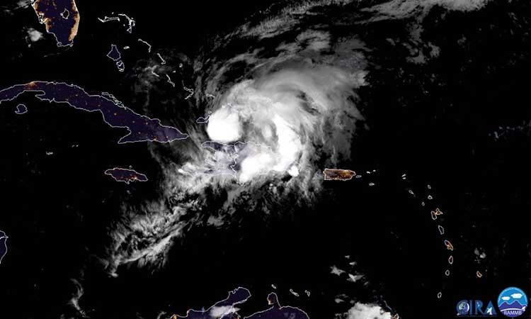 El NHC espera un fortalecimiento del huracán en las próximas 48 horas.
