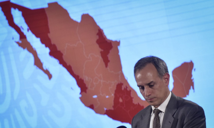 Reporte coronavirus en México, 04 de julio 2020