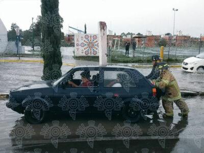 En Puebla se registraron severas inundaciones