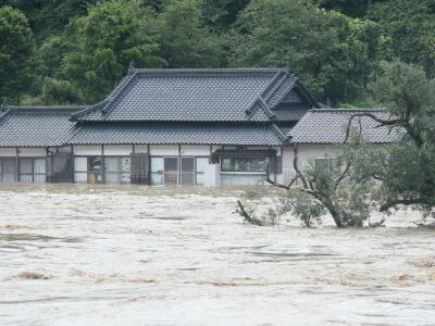 Japon fuertes lluvias