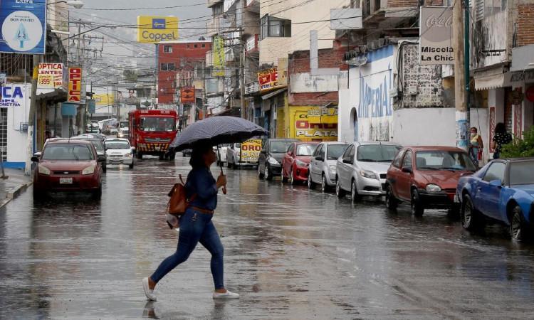 Pronostican fuertes lluvias y granizadas en estos estados