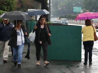 Clima para hoy: fuertes lluvias se registrarán en varios estados del país