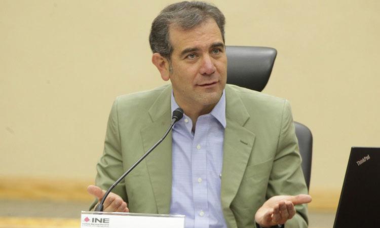 Lorenzo Córdova, INE