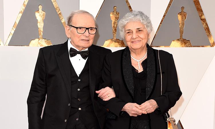 María Travia, la esposa de Ennio Morricone, que le compartió 60 años de vida