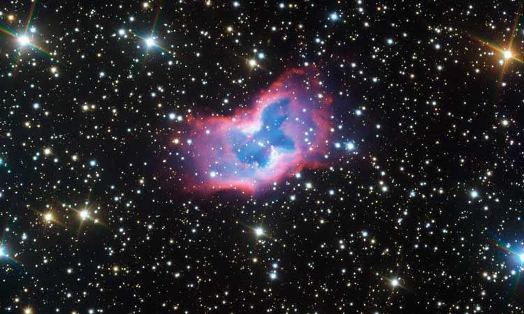 mariposa espacial telescopio