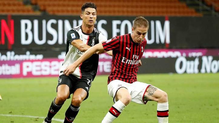 La Juventus mantiene viva la pelea por el Scudetto en la Serie A, a pesar de perder contra el Milan.
