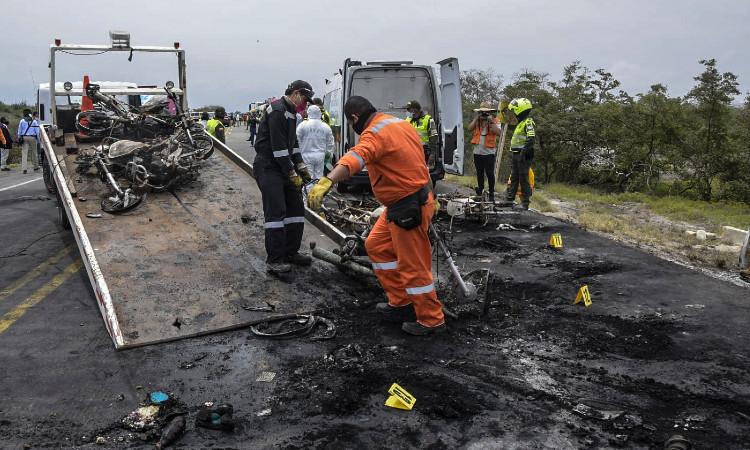 Explosión de pipa en Colombia: les advertí que tuvieran cuidado, dice conductor