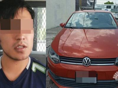En Puebla vendía autos robados por redes sociales