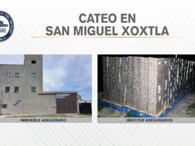 En Puebla decomisaron 90 mil latas de atun