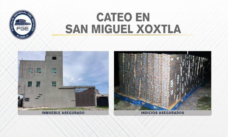 En Puebla decomisaron 90 mil latas robadas de atún