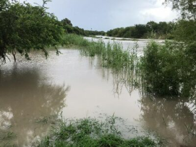 Río Bravo aumenta su caudal; temen afecte a Reynosa y Matamoros