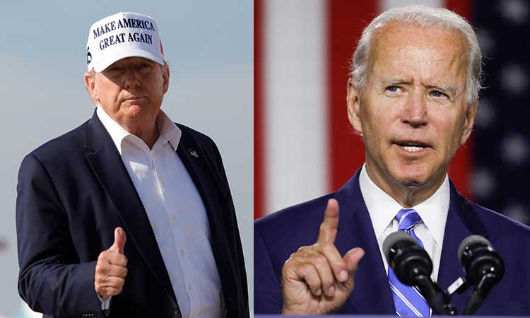 Trump promueve una perspectiva de caos para desacreditar a Biden