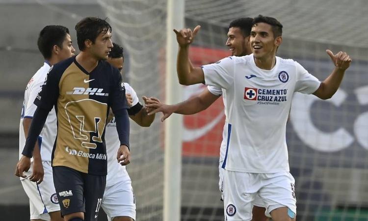 Cruz Azul gana en su presentación en la Copa por México ante Pumas.