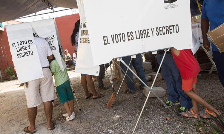 Votación en México