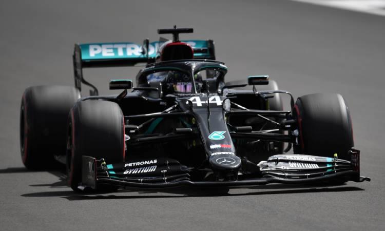 Lewis Hamilton consiguió su pole 91