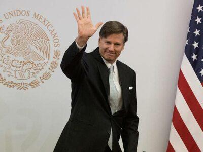 """Christopher Landau, embajador de EU en México, celebra captura del """"Marro"""""""