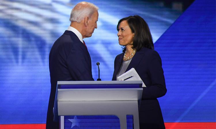 Elecciones EU: Biden y Harris hacen primer acto de campaña juntos