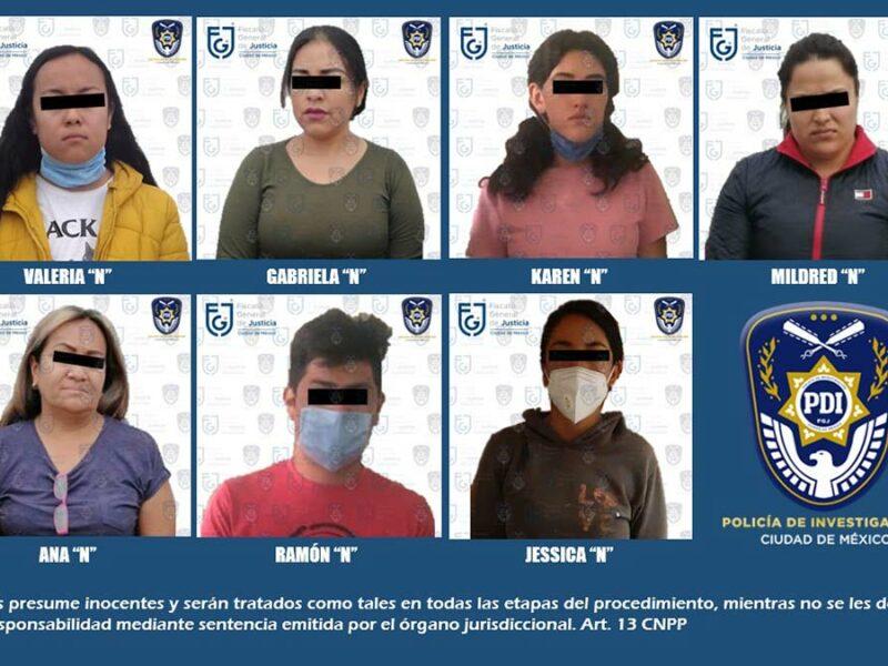 Desarticulan en CDMX y Edomex banda de secuestradores