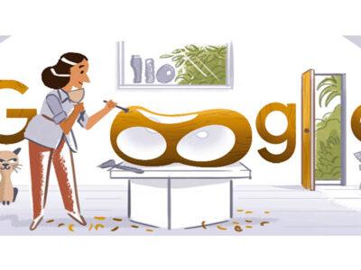 Google rinde homenaje a la escultora inglesa Bárbara Hepworth con un doodle