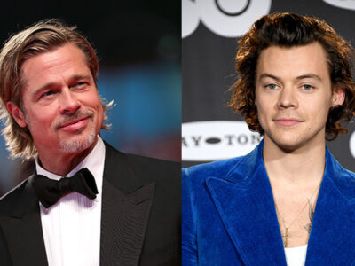 Brad Pitt y Harry Styles