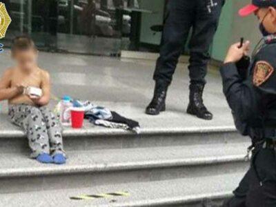 Policías de la CDMX hallan a niño extraviado; tras operativo