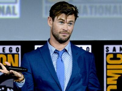 Chris Hemsworth nadará con tiburones