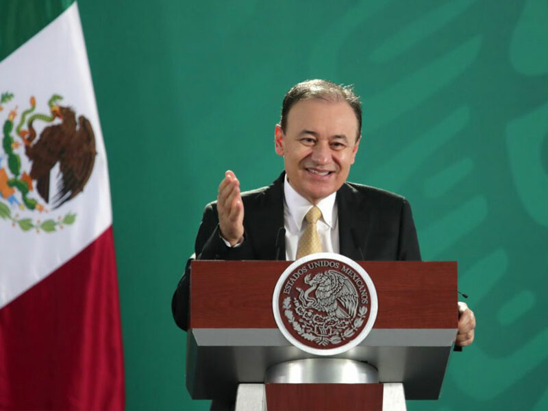 """Alfonso Durazo: """"Hemos dado golpes al crimen, pero no presumimos"""""""