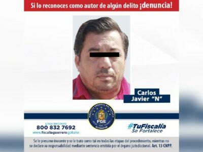 Cae presunto extorsionador de comerciantes y taxistas de Acapulco